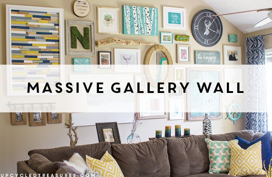 massive-gallery-wall-upcycledtreasures