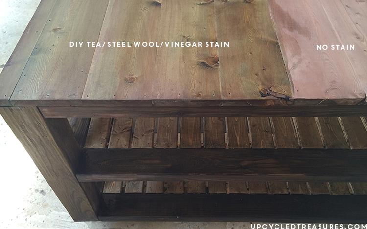 tea-steel-wool-stained-furniture-upcycledtreasures