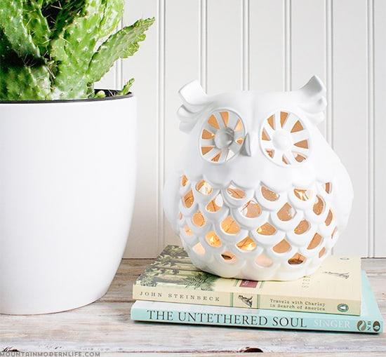 upcycled-diy-owl-nightlight-from-ceramic-decor-mountainmodernlife-com-550