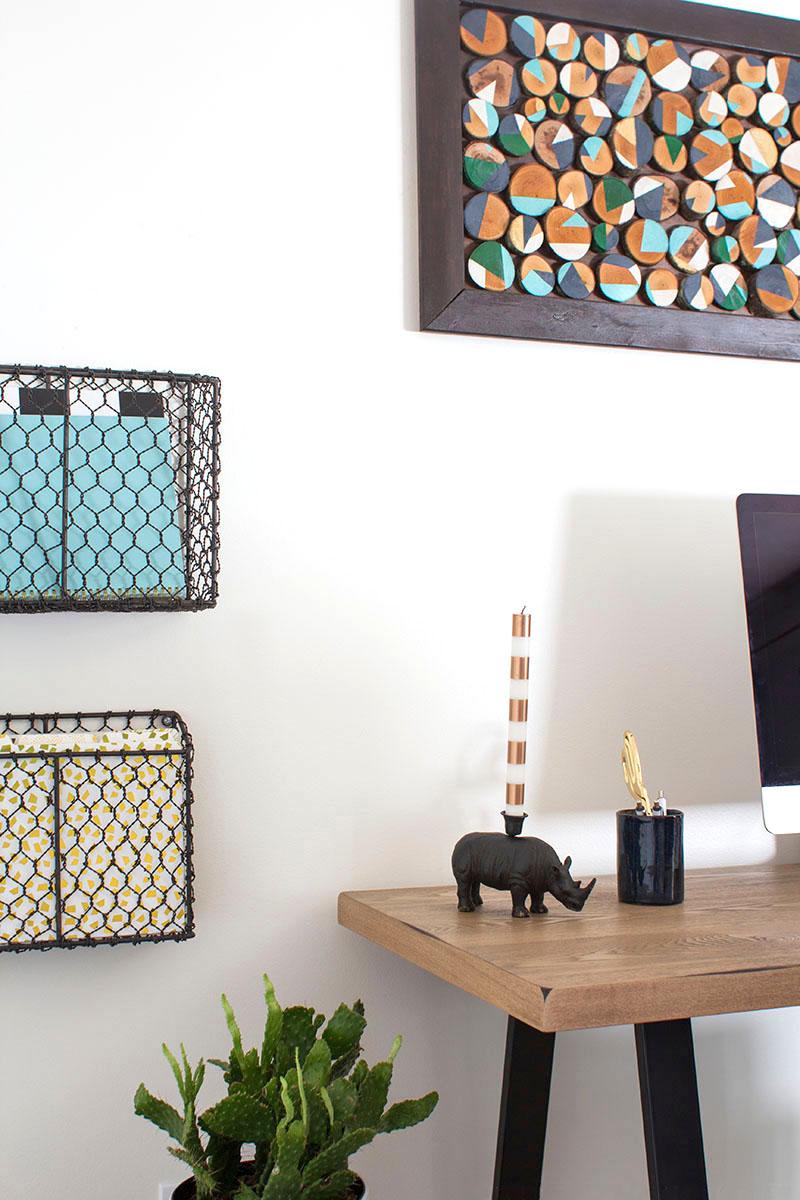 Modern Rustic Home Office Retreat | MountainModernLife.com