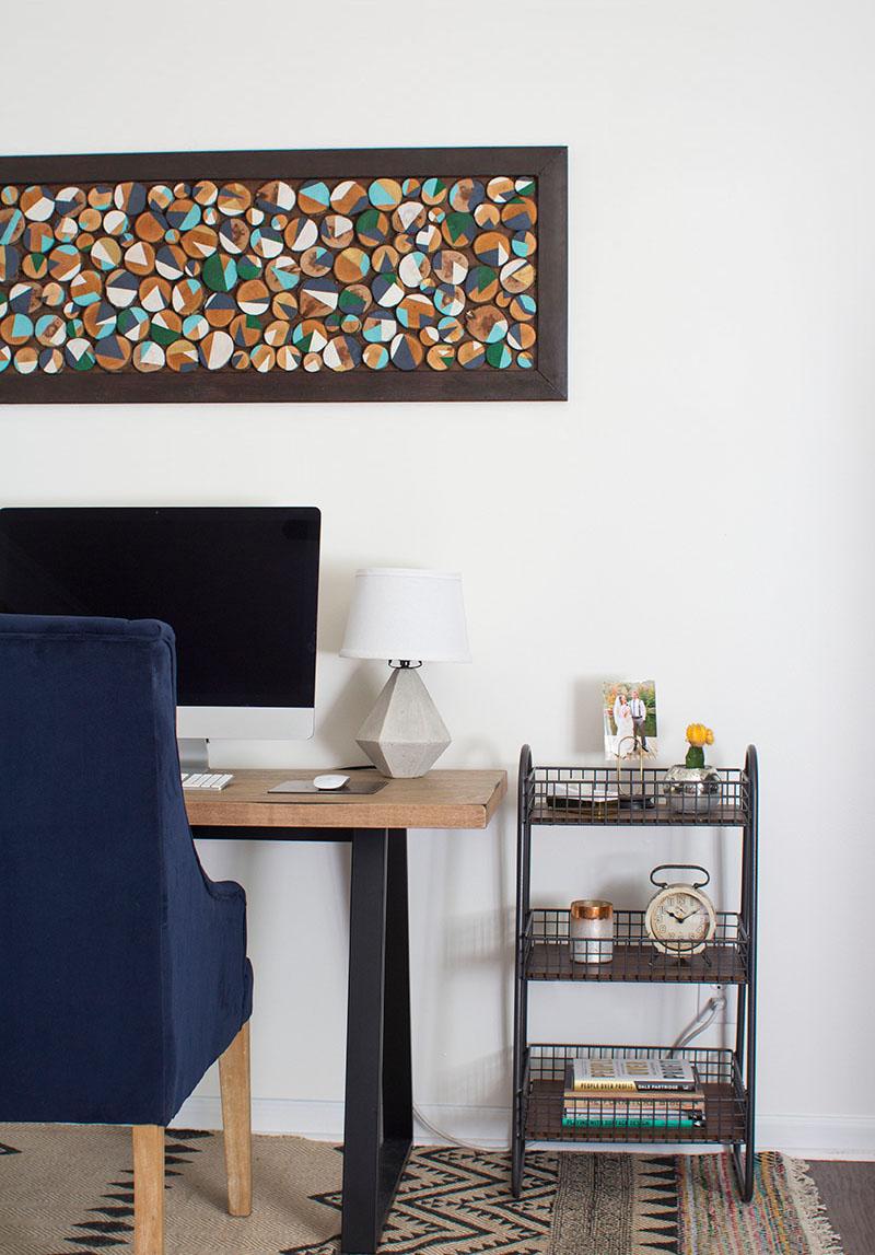 Modern Rustic Home Office Retreat   MountainModernLife.com