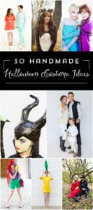 Check out these 30 handmade Halloween costume Ideas, and keep it handy for some last minute ideas!