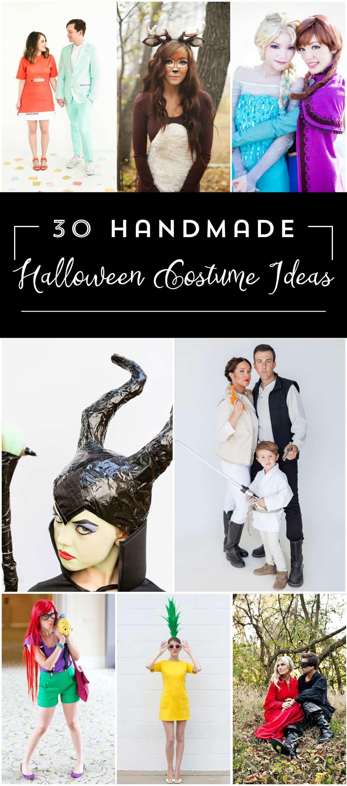 30 Handmade Halloween Costume Ideas