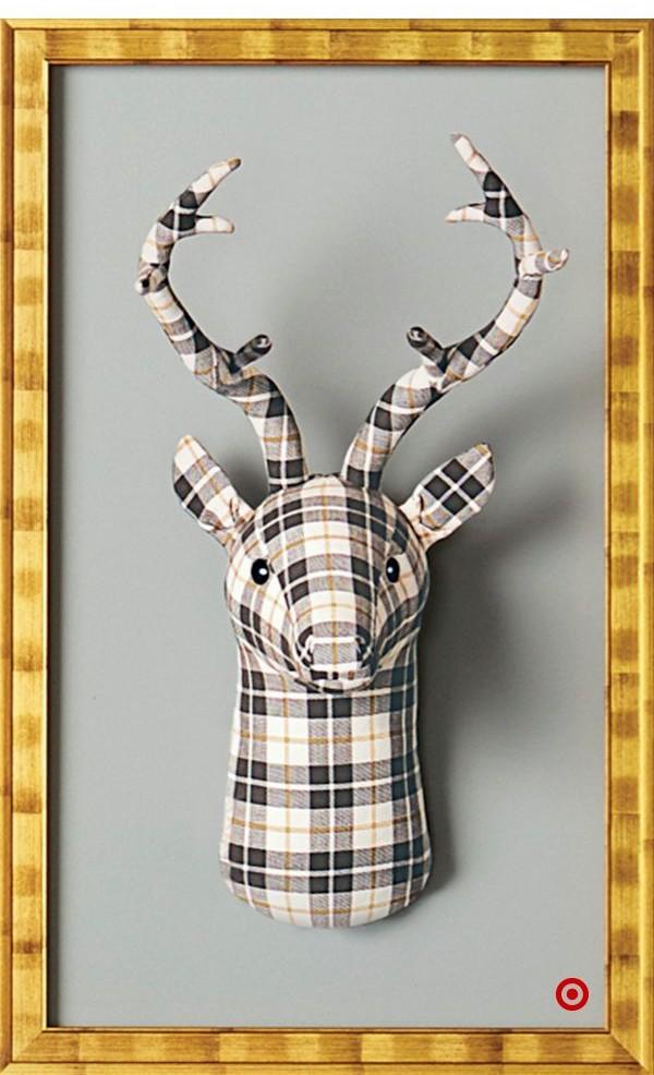 target-felt-deer-head
