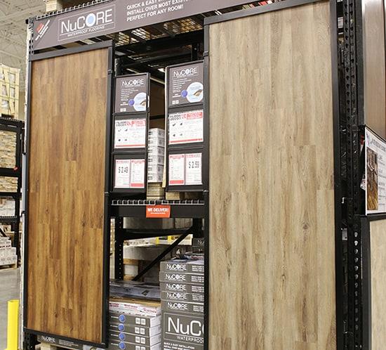 NuCORE waterproof flooring options Floor And Decor mountainmodernlife.com