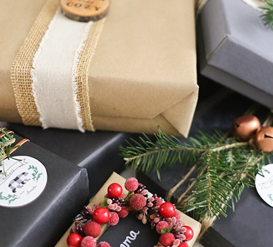 creative rustic christmas present wrapping ideas mountainmodernlife.com