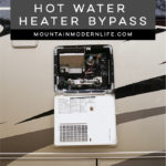 How to find your RV Hot Water Heater Bypass | MountainModernLife.com