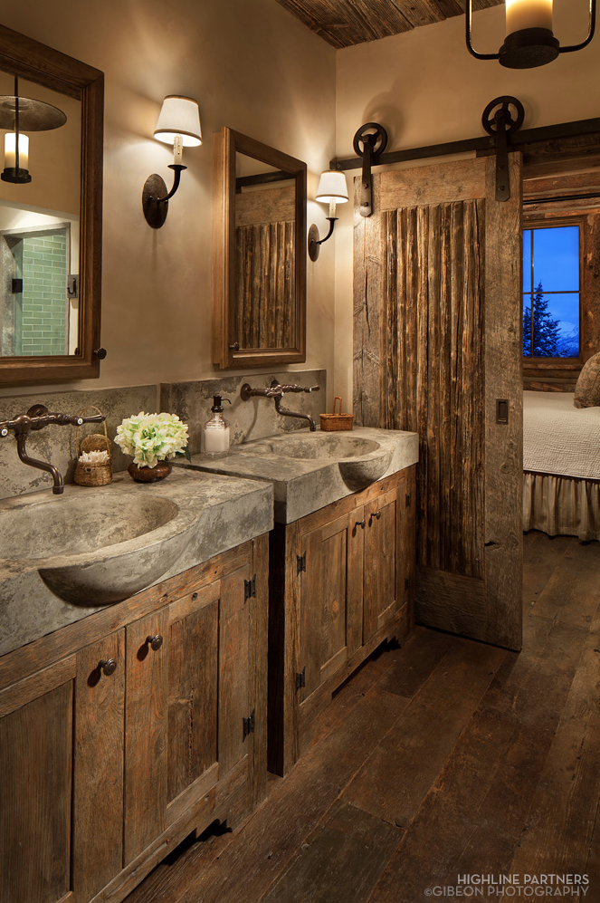 Rustic Sliding Barn Door | Highline Partners/Gibeon Photography