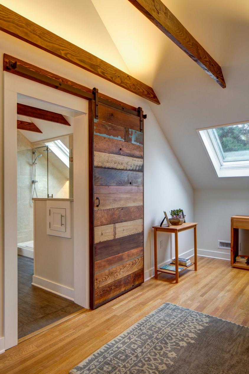 Planked Sliding Barn Door | Buckenmeyer Architecture