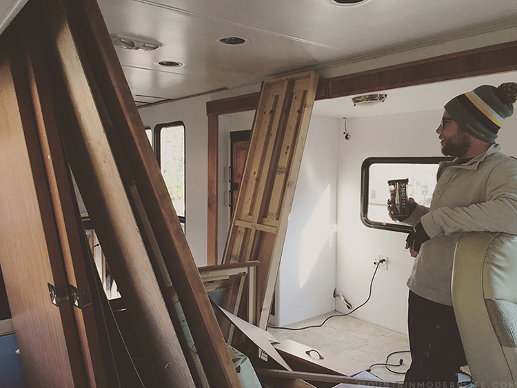 Dealing with RV Water Leak Damage due to Cracks in Skylight of 2008 Tiffin Allegro OpenRoad 32LA | MountainModernLife.com