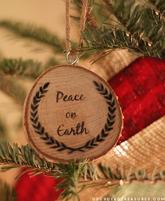 peace-on-earth-diy-wood-slice-christmas-ornaments-upcycledtreasures
