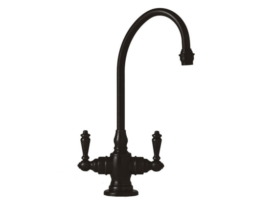 10 Rustic and Vintage-Inspired Black Kitchen Faucet Designs   MountainModernLife.com