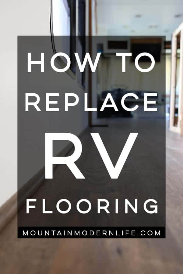 How to Replace RV Flooring