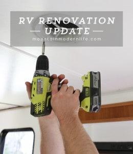 RV Renovation Progress Week 4   MountainModernLife.com