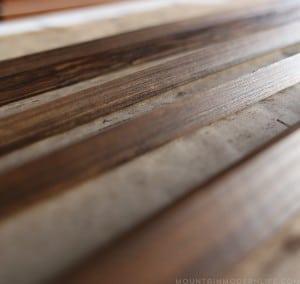 staining trim for flooring in RV mountainmodernlife.com