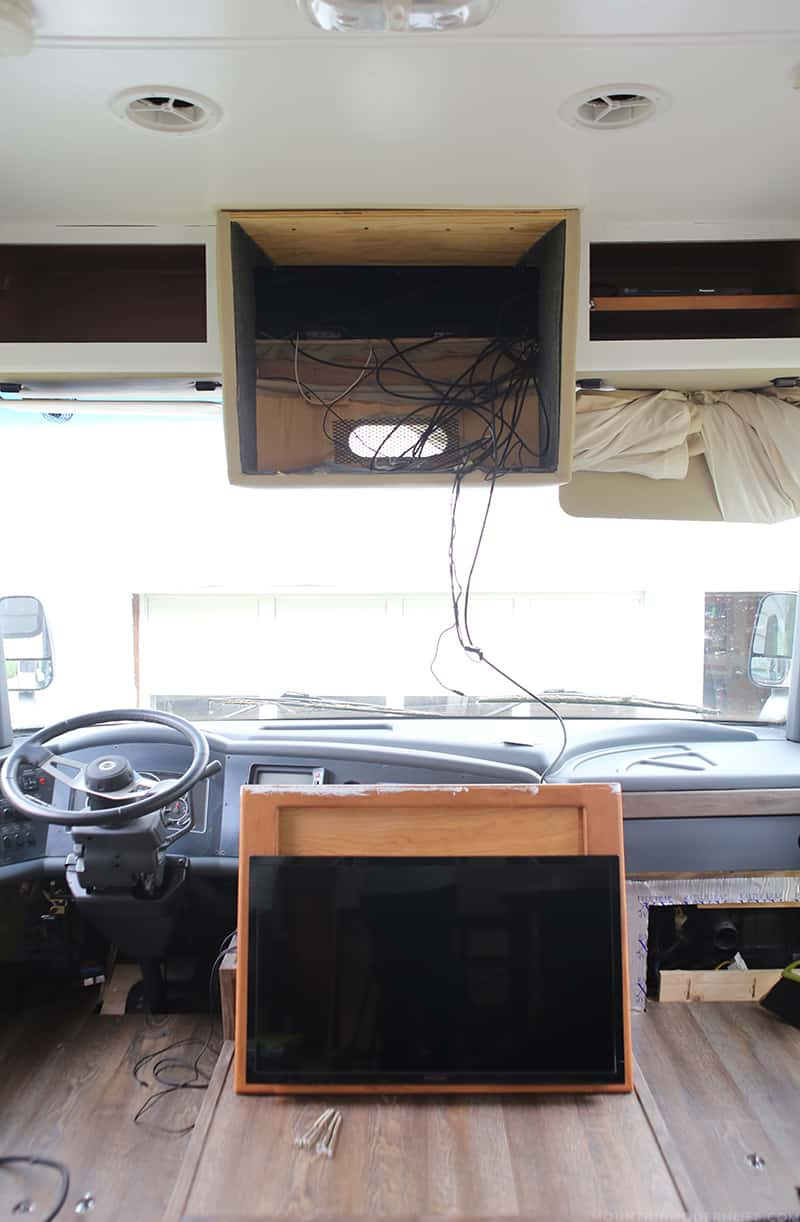 ORC Week 3. Planning to update your motorhome? Come check out the progress of our RV renovation for the One Room Challenge! MountainModernLife.com