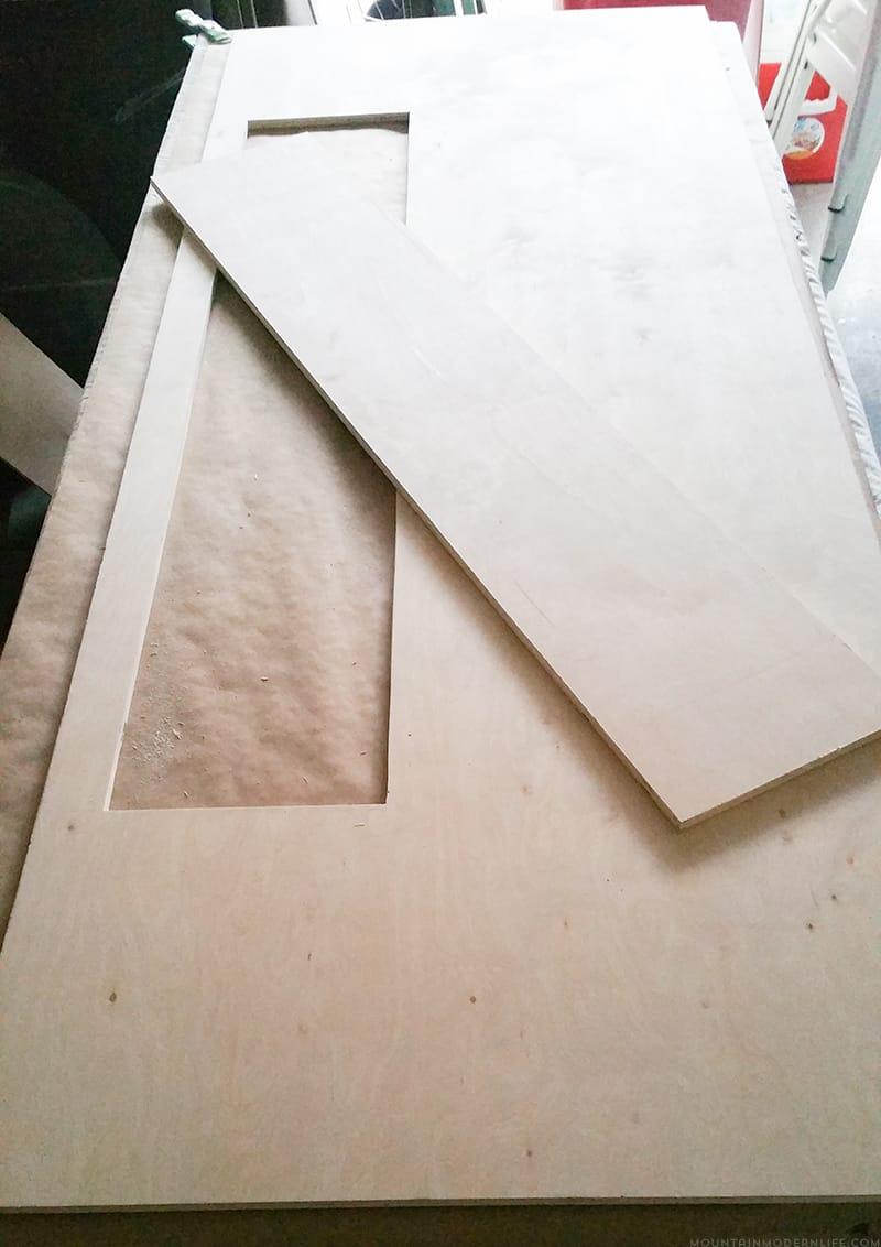 custom cabinet build for RV