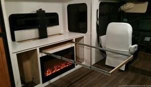 Sneak Peek of our DIY Extending Table inside RV | MountainModernLife.com
