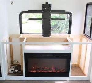 installing tv lift in RV