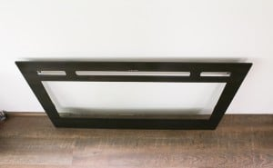 recessed electric fireplace glass cover mountainmodernlife.com