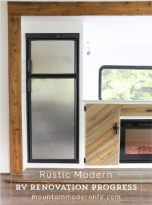 Rustic Modern RV Renovation Progress   MountainModernLife.com