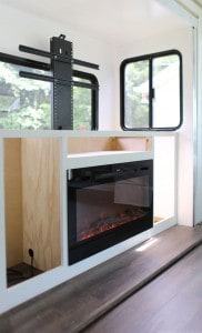 how to install tv lift in RV