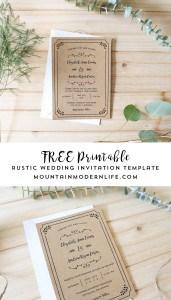 free-printable-rustic-whimsical-diy-wedding-invitation-template-mountainmodernlife.com