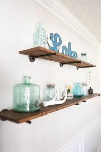 rustic-modern-industrial-pipe-shelves-mountainmodernlife.com