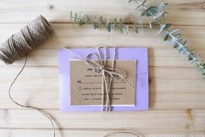 rustic-printable-wedding-invitation-with-purple-mountainmodernlife.com