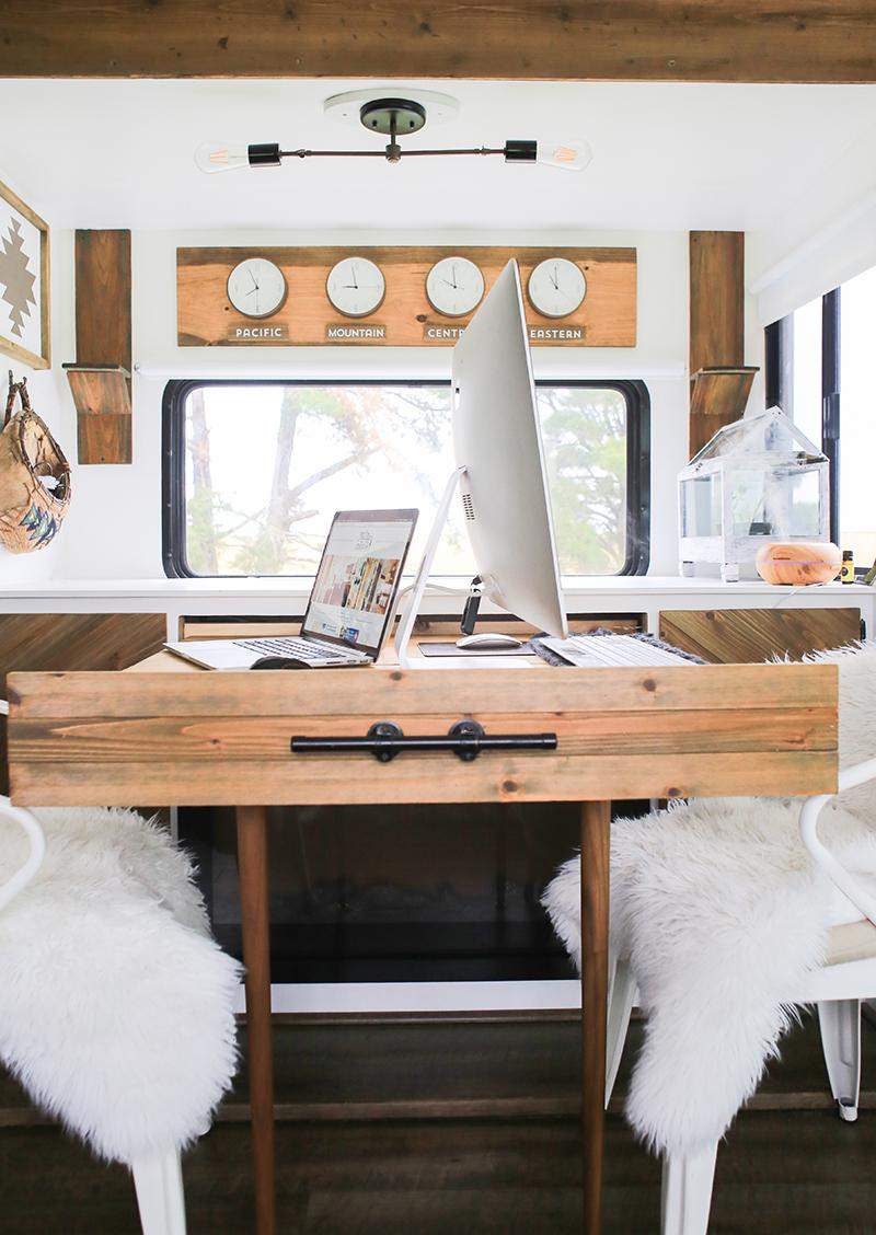 DIY expanding desk