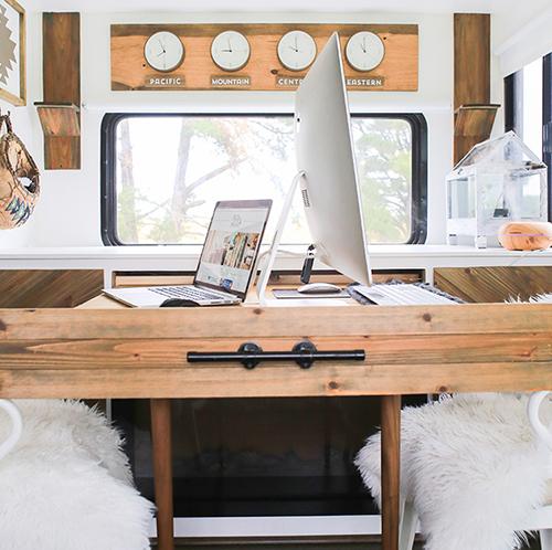 DIY transforming desk
