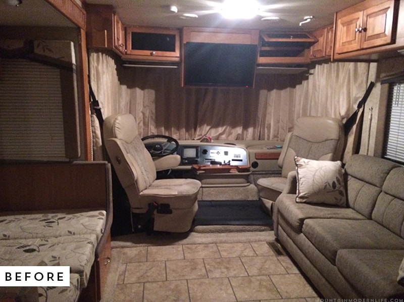 Whether you want to replace or simply remove the tv from the front of your coach, here are some tips on how to remove the TV from the front of your RV. It's easier than you think! MountainModernLife.com