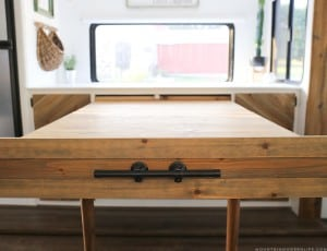 DIY Expandable Table for RV