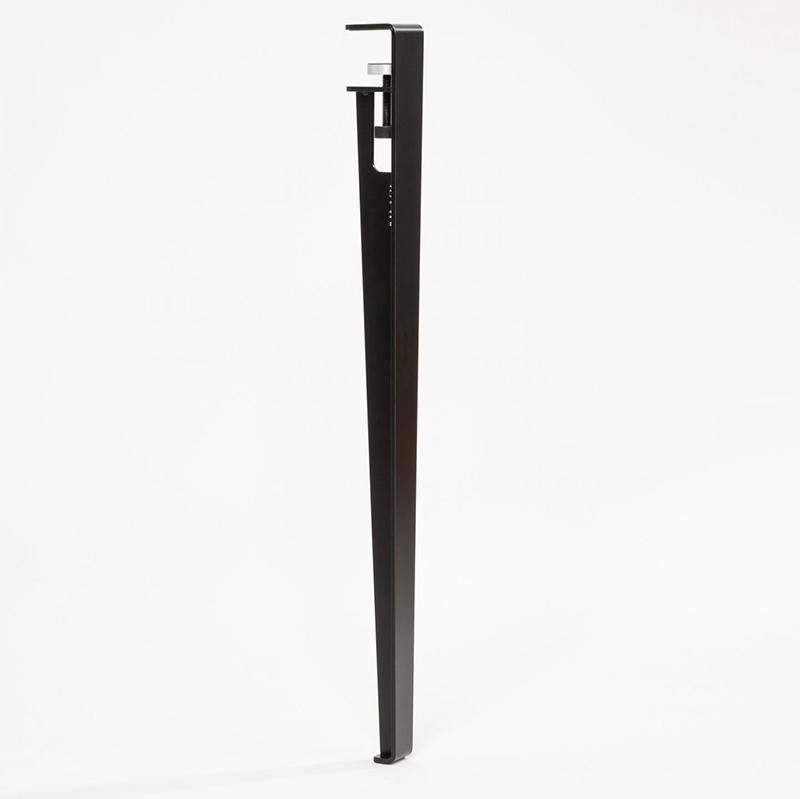 Clamp-on style metal legs from TipToe