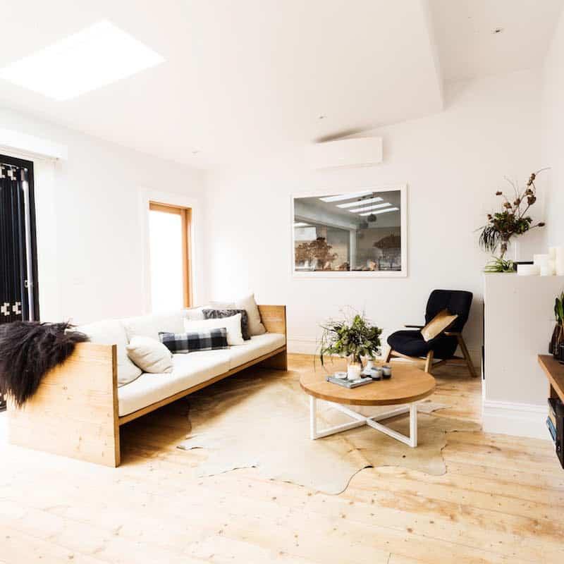 Rustic Modern Sofa Designs   Source: Mark Tuckey Box Sofa