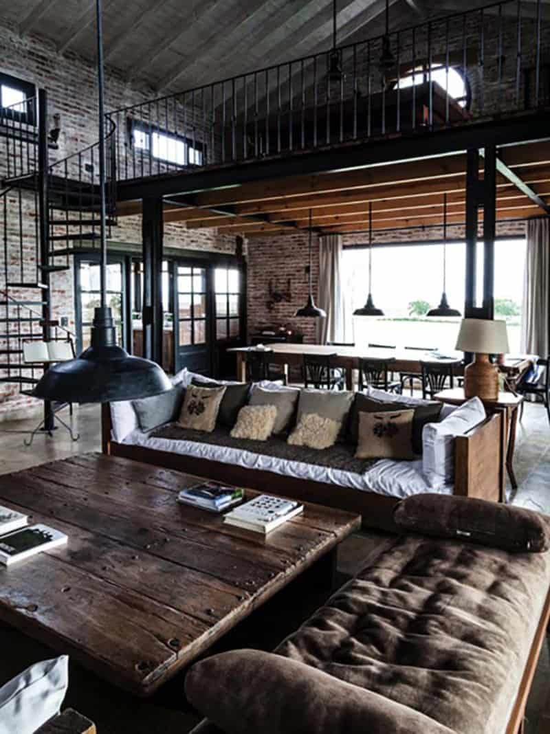 Love the sofa in this space! Railway Shed Conversion | Pragmata