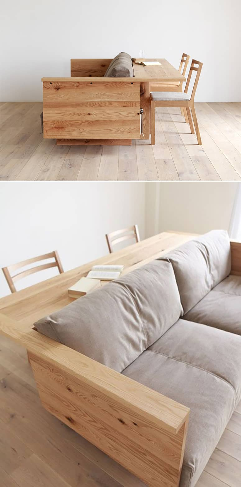 Rustic Modern Sofa Designs   Source: Pianoisola Caramella Counter Sofa
