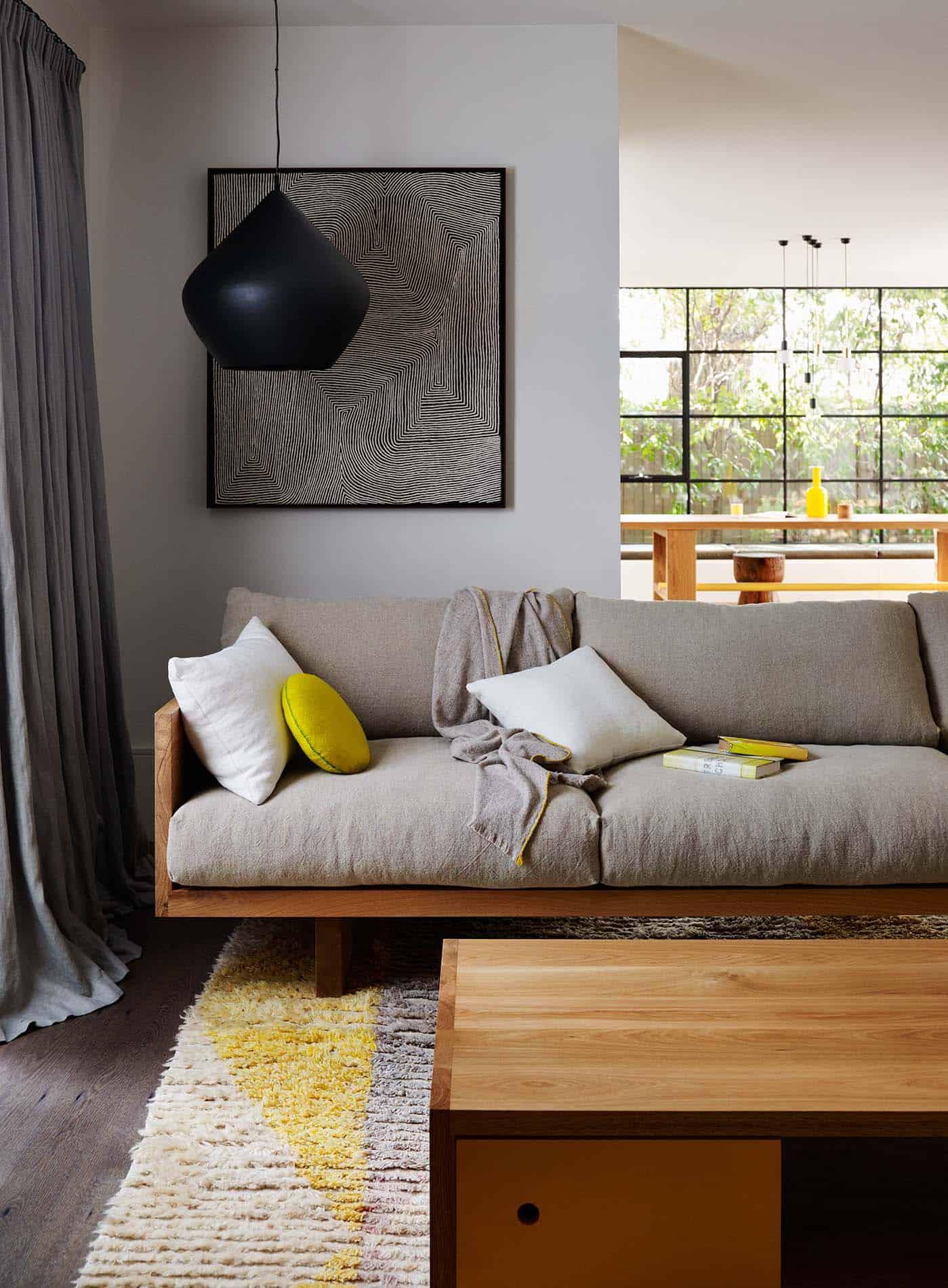 Rustic Modern Sofa Designs   Source: Mark Tuckey Plinth Sofa - Photo by Lucas Allen
