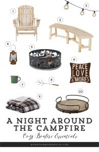 Make your next campfire extra cozy with these bonfire essentials