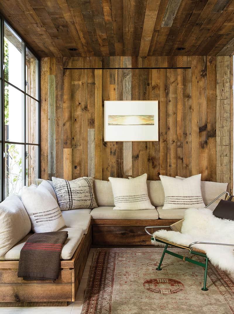 Rustic Modern Sofa Designs   Source: Jenni Kayne Home via C Magazine