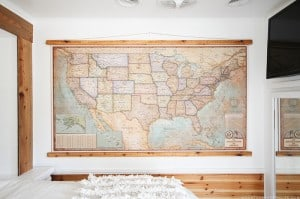 rv-bedroom-makeover-with-vintage-map-mountainmodernlife-com