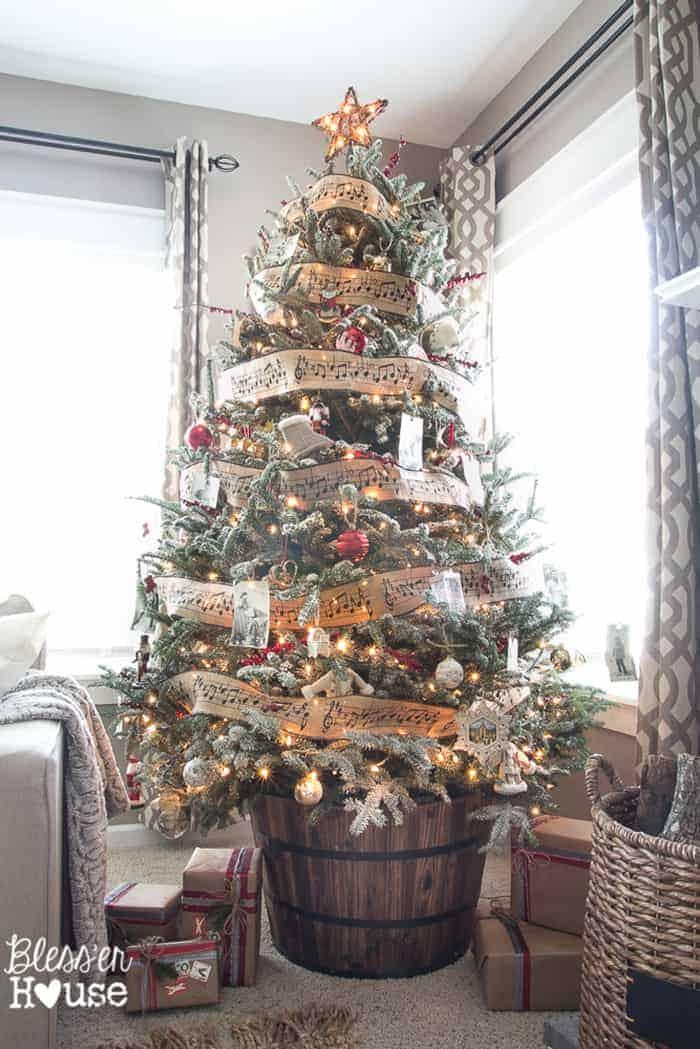 Rustic Christmas Tree   Bless'er House