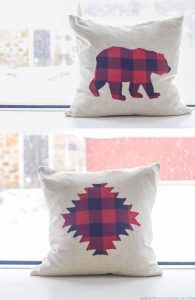rustic-buffalo-plaid-holiday-pillows-mountainmodernlife-com