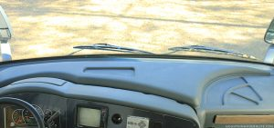 Full painted rv dashboard 9 months in