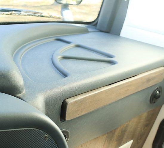 Painted RV Dashboard Update