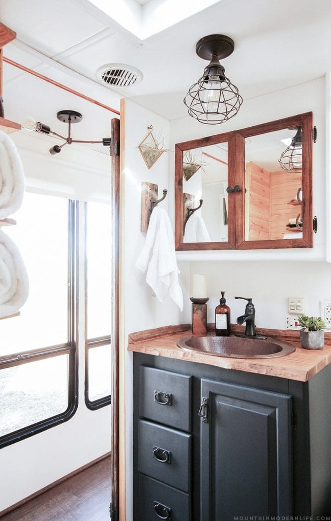 Create the environment YOU want to live in! Follow along as we travel the US while sharing RV renovation ideas, tiny house tips, & rustic decor inspiration! MountainModernLife.com
