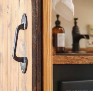 Rustic Bedroom Door