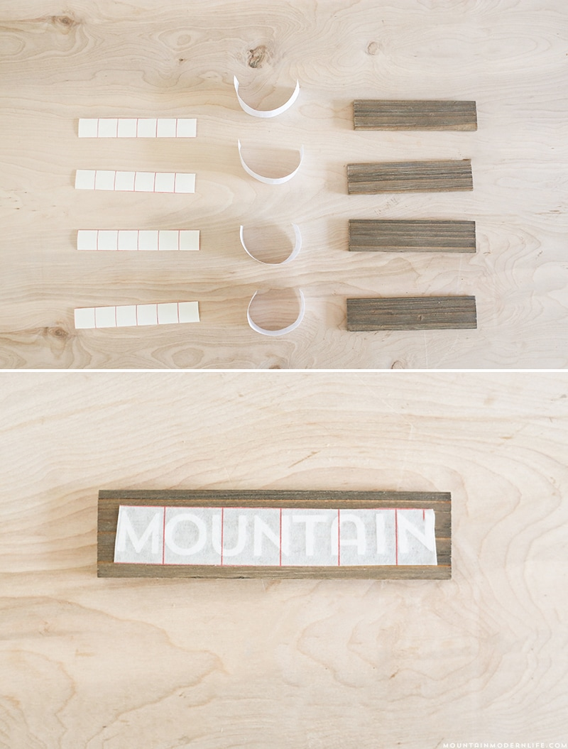 Looking to add a bit of wanderlust to your home? See how easy it is to create your own time zone clocks. MountainModernLife.com