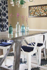 DIY Rustic Farmhouse Style Table   MountainModernLife.com