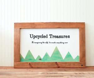 DIY Rustic Sign from Upcycled Pallets   MountainModernLife.com